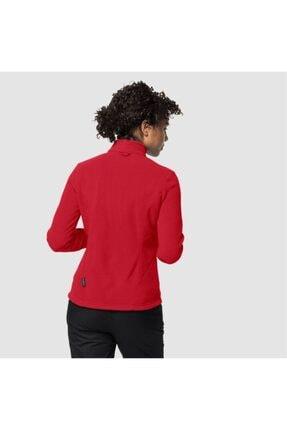 Jack Wolfskin Kadın Kırmızı W Moonrise Jkt Outdoor Sweatshirt 1