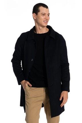 İgs Erkek Lacivert Modern Fit Palto 0
