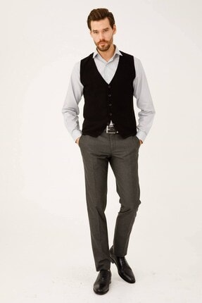 İgs Erkek Füme Rahat Kalıp Std Pantolon 1