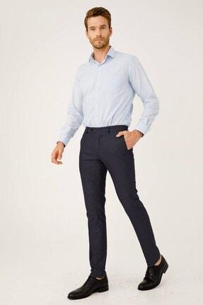 İgs Erkek Koyu Lacivert Dar Kalıp Pantolon 0
