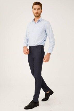 İgs Erkek Koyu Lacivert Dar Kalıp Pantolon 3