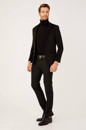 İgs Erkek Siyah Rahat Kalıp Pantolon 0