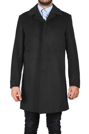 İgs Erkek Füme Modern Fit Palto 0