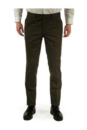 İgs Erkek Kahverengi Regular Fit Pantolon 0