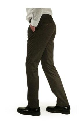 İgs Erkek Kahverengi Regular Fit Pantolon 2
