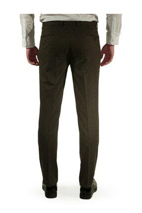 İgs Erkek Kahverengi Regular Fit Pantolon 3