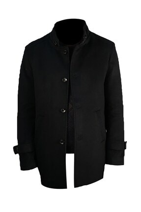 İgs Erkek Lacivert Slim Fit Palto 2