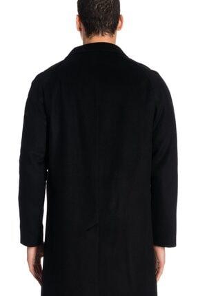 İgs Erkek Siyah Modern Fit Palto 2