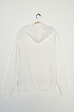 New Balance Kadın Spor Sweatshirt - V-WTH804-WT 1