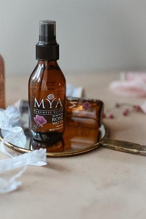 MYA Tam Yağlı Gül Suyu 100 Ml Renkli Cam Şişe (spreyli) 1