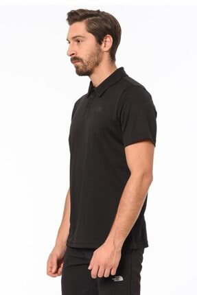 The North Face Tanken Polo Erkek T-shirt Siyah 3