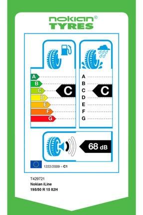 Nokian Iline 195/50 R15 82h Yaz Lastiği 2020 Üretimi 1