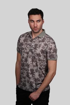 İgs Erkek Bej Modern Fit T-shirt 1