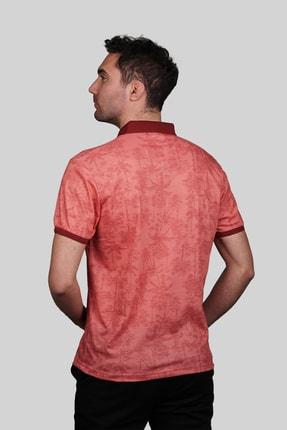 İgs Erkek Somon Modern Fit Polo Yaka T-shirt 2