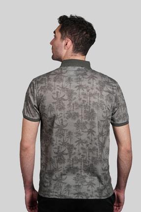 İgs Erkek Haki Modern Fit Polo Yaka T-shirt 2