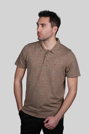 İgs Erkek Taba Modern Fit Tişört 1