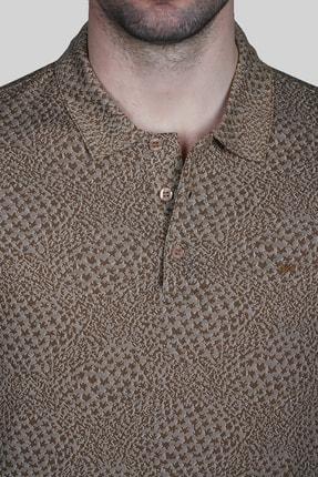 İgs Erkek Taba Modern Fit Tişört 3