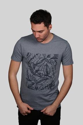 İgs Erkek Marin Slim Fit T-shirt 0
