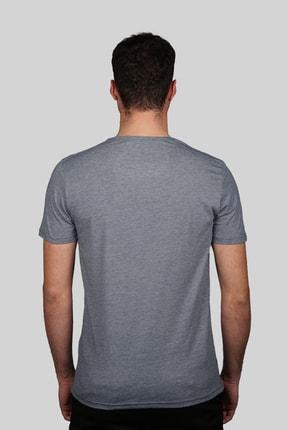 İgs Erkek Marin Slim Fit T-shirt 2