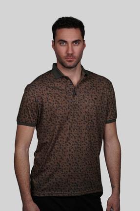 İgs Erkek Kahve Modern Fit Tişört 1
