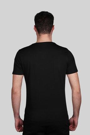 İgs Erkek Siyah Slim Fit T-shirt 2