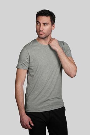 İgs Erkek Yeşil Slim Fit Tişört 1