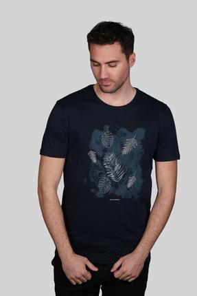 İgs Erkek Lacivert Slim Fit Tişört 1
