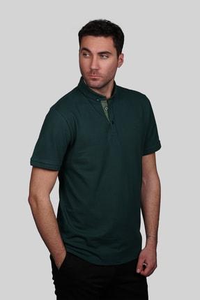 İgs Erkek Nefti Slim Fit Polo Yaka T-shirt 0