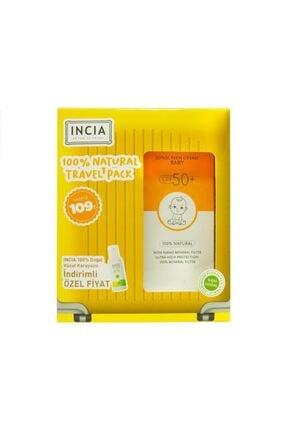 INCIA Güneş Seti Çocuk Spf50+ 100 Ml Ve Vücut Sprey Hediyeli 1