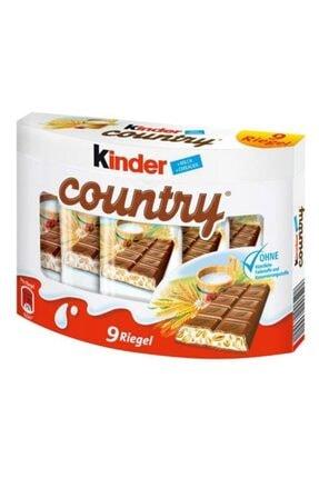 Kinder Country 9 Sütlü ve Yulaflı Çikolata 23,5 gr 0