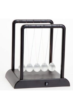MOS'EV Newton's Cradle Light Up Turuncu Işıklı Newton Topları 2