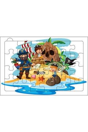 Redro Home 5'li Ahşap Puzzle Set 24 Parça Çiftlik 2