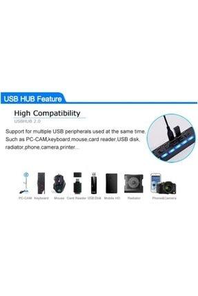 Alfais 4874 7 Port Usb Hub Switch Çoklayıcı Çoğaltıcı 2