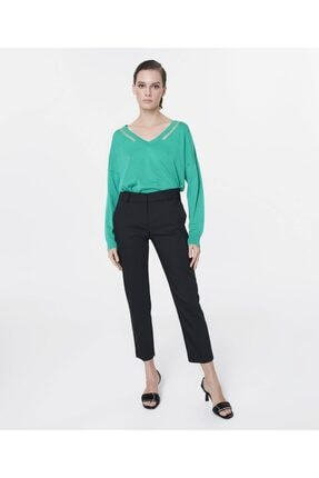 İpekyol Kadın Siyah Klasik Kesim Pantolon 0