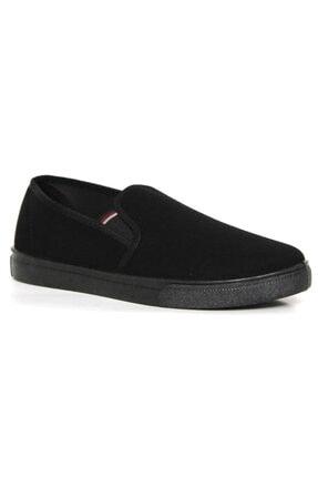 Siyah Keten Erkek Bez Ayakkabı Ars254 ARS254