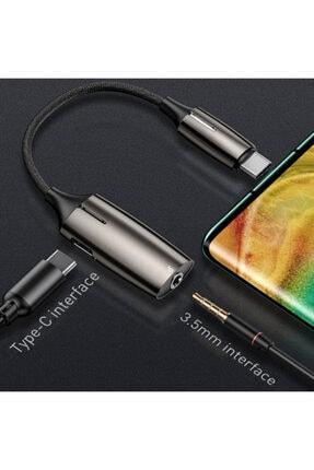 Ally Mobile Baseus L60s Hızlı Şarj 2-in-1 Type-c To 3.5mm Kulaklık Ve Şarj Dönüştürücü Başlık 0