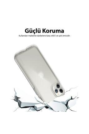 Mobilteam Apple Iphone 7 Kılıf Şeffaf Süper Silikon Kapak 1