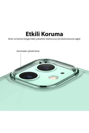 Mobilteam Apple Iphone 7 Kılıf Şeffaf Süper Silikon Kapak 2