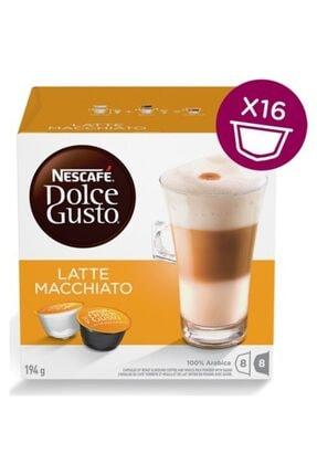 Nescafe Dolce Gusto Latte Macchiato 16 Kapsül 0