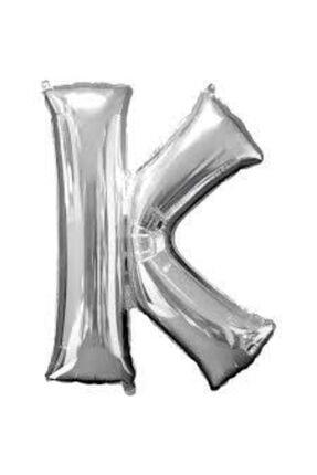 """Deniz Yıldızı Sanat 16"""" Inç 40 Cm Folyo Harf Balon Gümüş K 0"""