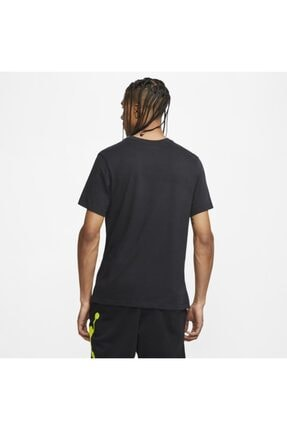 Nike Erkek Siyah Jordan Dect Jumpman Ss Crew T-shirt Cj6302-010 3