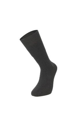 Mısırlı 3'lü Lambswool Dikişsiz Düz Kışlık Kalın Erkek Çorap 2