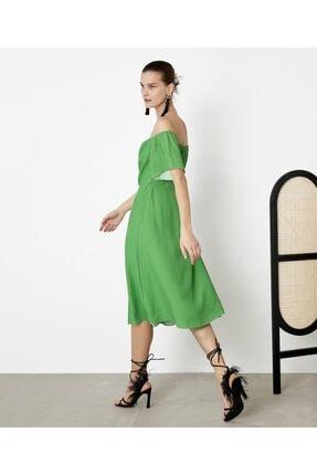 İpekyol Kadın Yeşil Puantiye Desen Elbise IS1200002421070 1