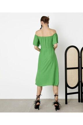 İpekyol Kadın Yeşil Puantiye Desen Elbise IS1200002421070 2