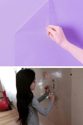 Tutunabilir Kağıt 2 Tane Şeffaf Akıllı Kağıt Tahta 100x150 Cm Yazı Tahtası + Kalem Duvara,cama,tahtaya Uygulanır 1