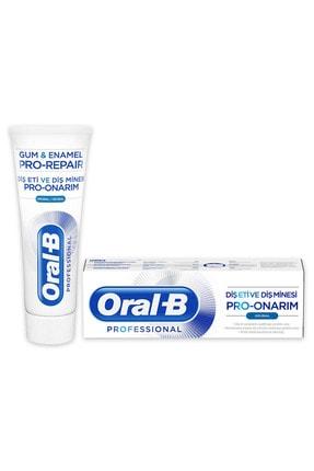 Oral-B Professional Diş Eti ve Diş Minesi Pro-Onarım Orjinal 75 ml 1