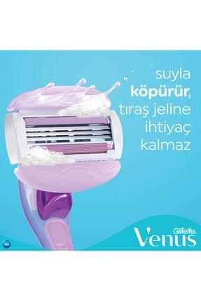 Gillette Venüs Comfort Glide Breeze Tıraş Makinesi + 2 Yedek Başlık 4