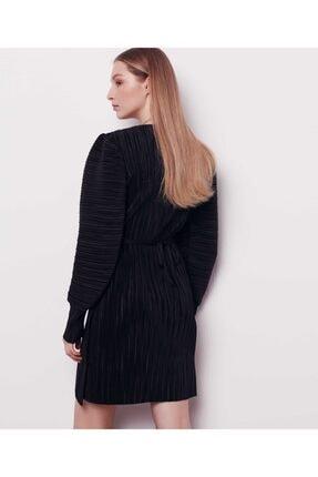 İpekyol Kadın Siyah Anvelop Elbise 3