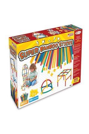 DEDE Fen Toys Bambu Çubukları 300 Parça 0