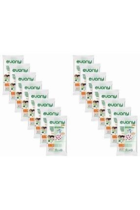 Evony Kids Yumuşak Elastik Kulaklı Renkli Çocuk Maskesi 10 Lu X 16 Adet 0
